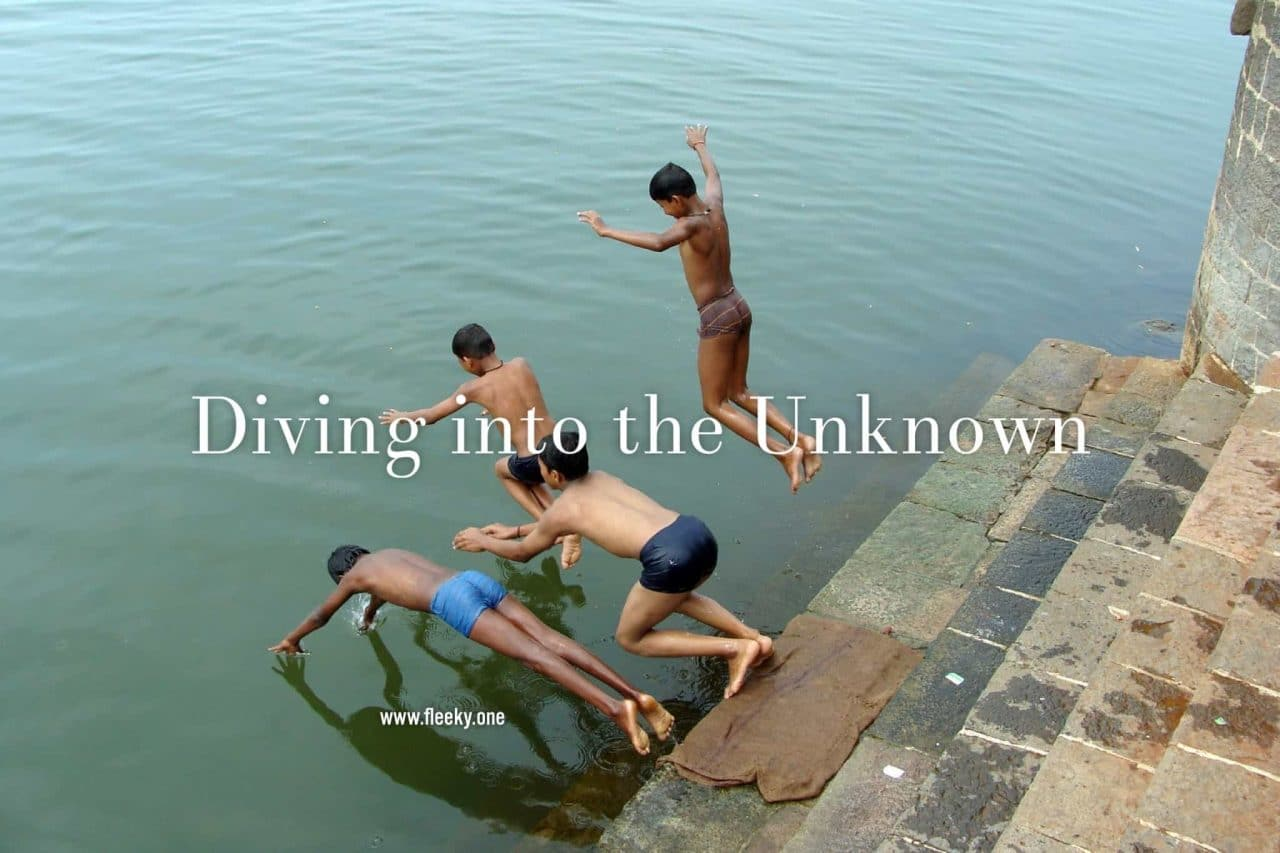 Diving into the divine unknown