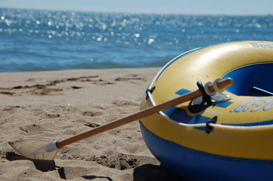 Row the boat ashore