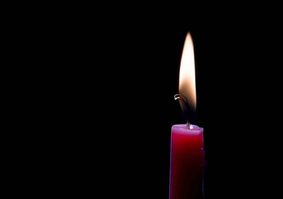 First candle of Advent