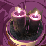 The second candle - prepare