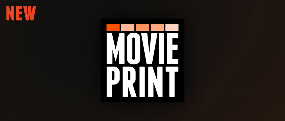 MoviePrint - Free open source tool to perceive, analyse and archive movies with ease