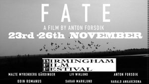 FATE film at BIRMINGHAM FILM FESTIVAL