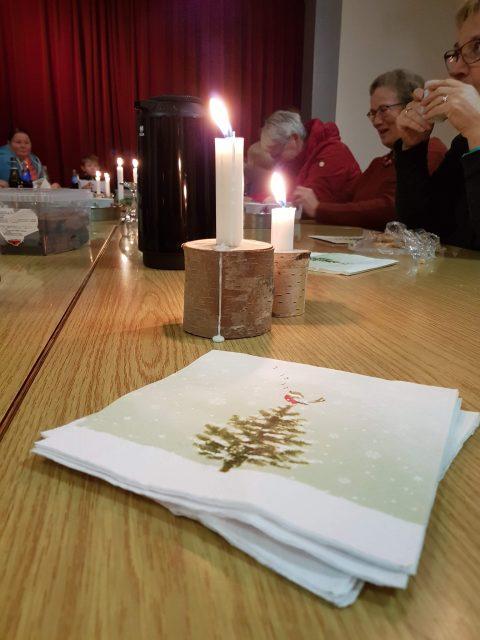 Juletræstænding og dekorationer @ Granslev Forsamlingshus | Langaa | Denmark
