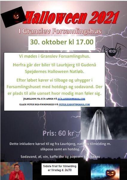 Halloween 2021 I Granslev Forsamlingshus @ Granslev Forsamlingshus | Langaa | Denmark