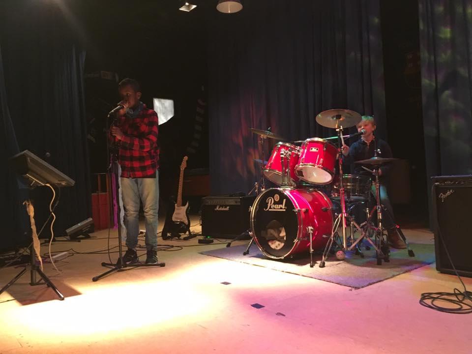 Band der spiller