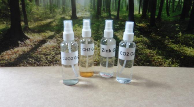 4 Sprühflaschen Keshe Technologie