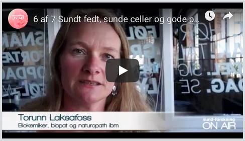 Torunn Laksafoss - video 6 ud af 7 om fedtsyrer