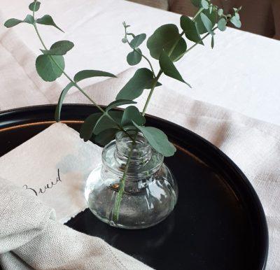 kleine vaasjes partij vazen huren bruiloft helder glas 1 bloem vaasjes