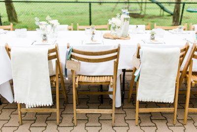 witte dekentjes huren bruiloft zeeland