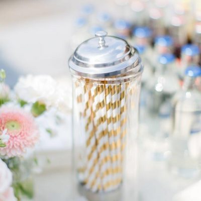 rietjes dispenser huren rietjeshouder rietjes limonadetab bruiloft