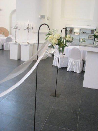tuinsteker prikker op voet huren bruiloft feest haak