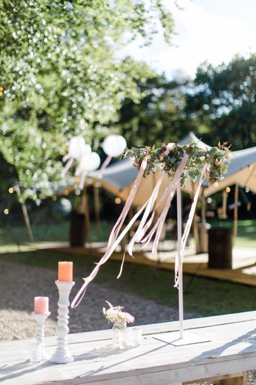bloemen bruiloft tafelversiering