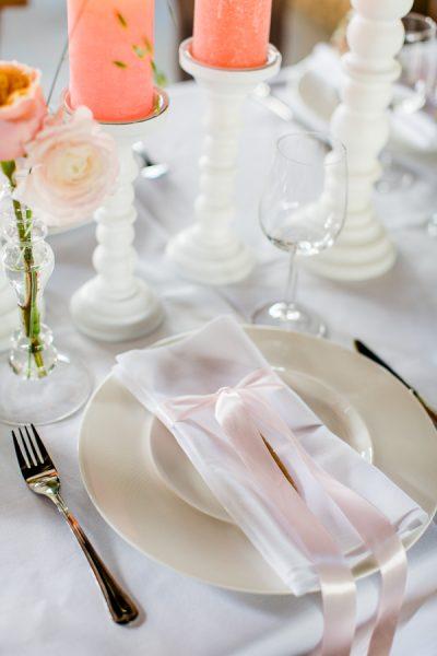 huur wit linnen servetten bruiloft