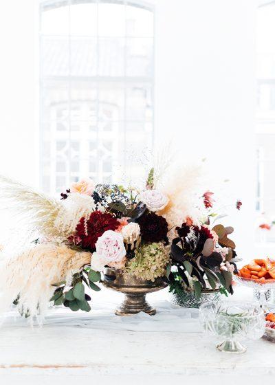 schaal voor bloemen