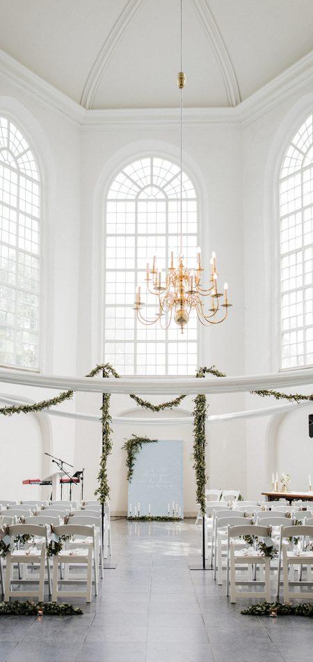op zichzelf staande palen of stellingen voor slingers of lampjes huren bruiloft