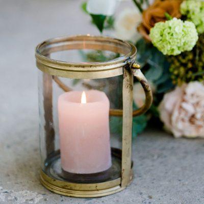 windlicht goud glas bruiloft huren