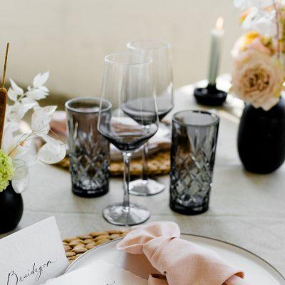 onderzetter placemat riet huren bruiloft