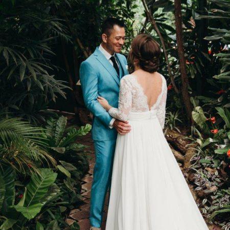 stani en Melina trouwen in Den Haag
