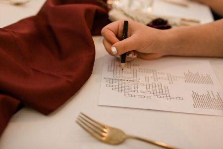 kleine verrassigen vip menukaart bruiloft