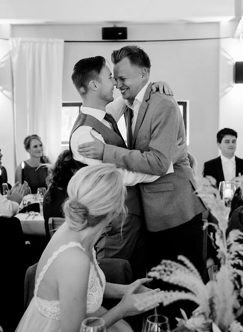 bruiloft fotografie intieme fotos bruidegom