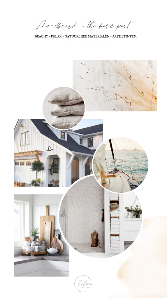 moodboard beach wedding relax trouwen strand