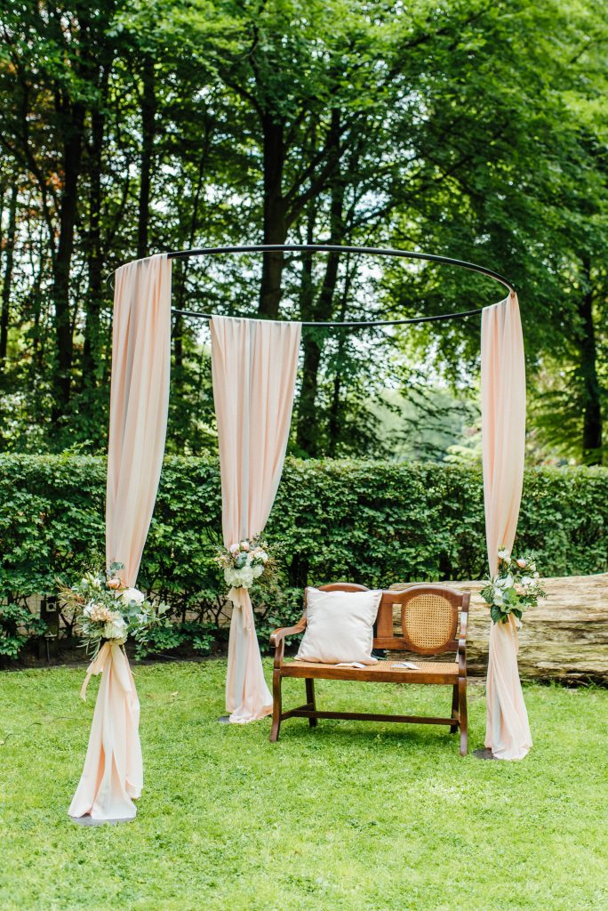 prieel trouwen in het bos hulshorst