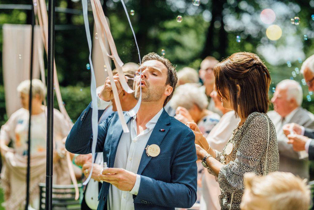 bellen blazen bruiloft hulshorst buiten trouwen