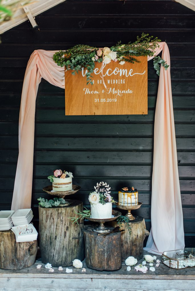bruilofttaart caketopper weddingcake sweettable