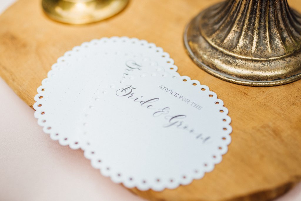 wish voor bride en groom kaartjes