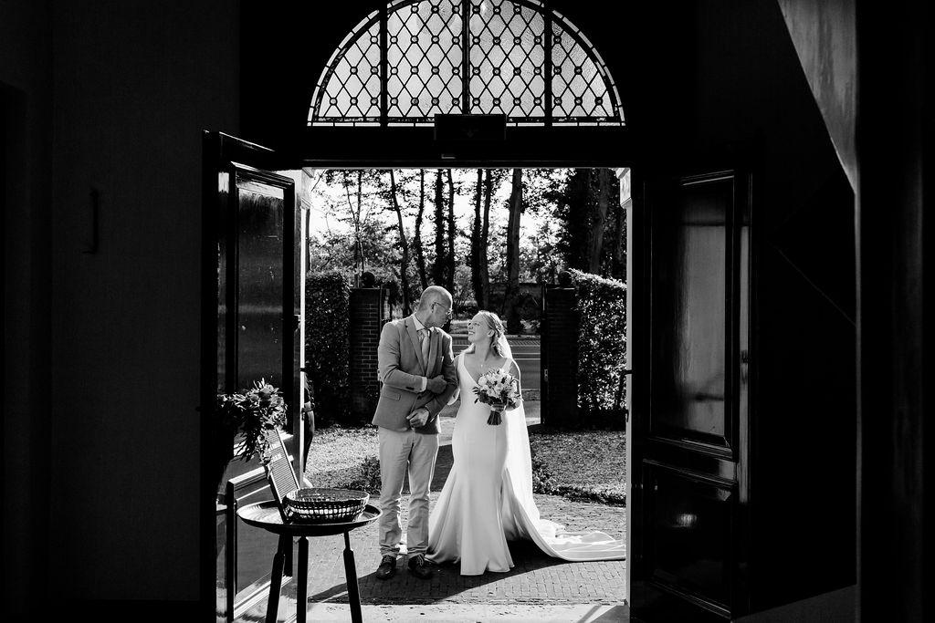 bruiloft trouwen in de kerk fotos maken