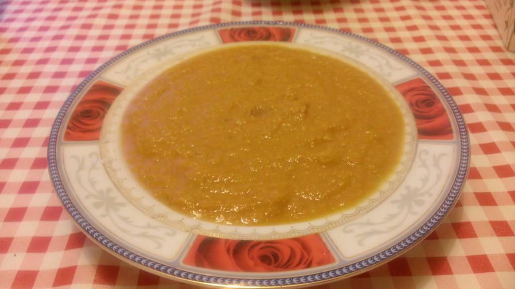 Stark morot- och potatissoppa