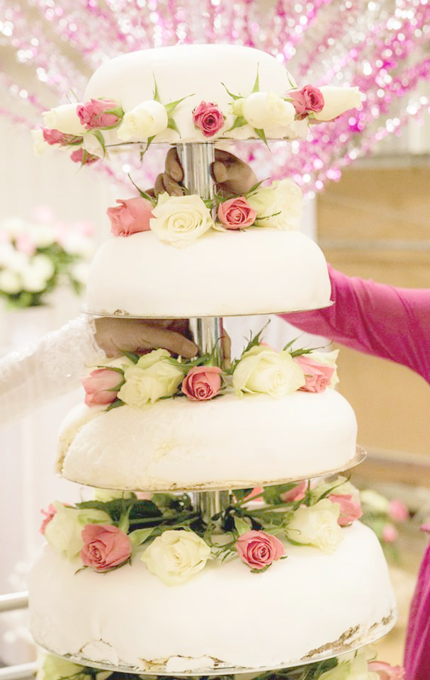 Abbe och Afnans bröllopstårta