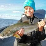 Char Fishing on lake Vättern