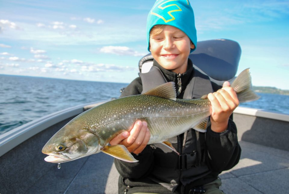 Char Fishing on lake Vättern
