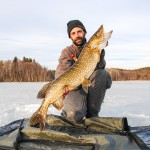 Pike Ice Fishing in Sweden