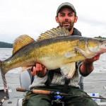 Huge Zander caught Fishing in Sweden.