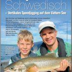 Char Fishing on lake Vattern in Sweden