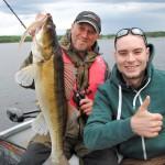 Zander from lake Stora Nätaren in Sweden