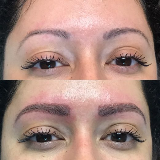 Microblading is a new technique