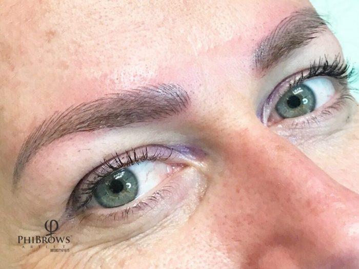 Semi Permanent Eyebrows - microblading or shading