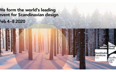 Välkomna att besöka oss på  Stockholm Furniture & Light Fair 2020