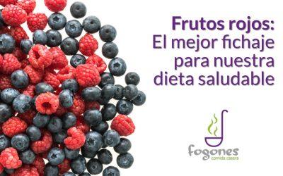 Frutos rojos, el mejor fichaje para nuestra dieta saludable