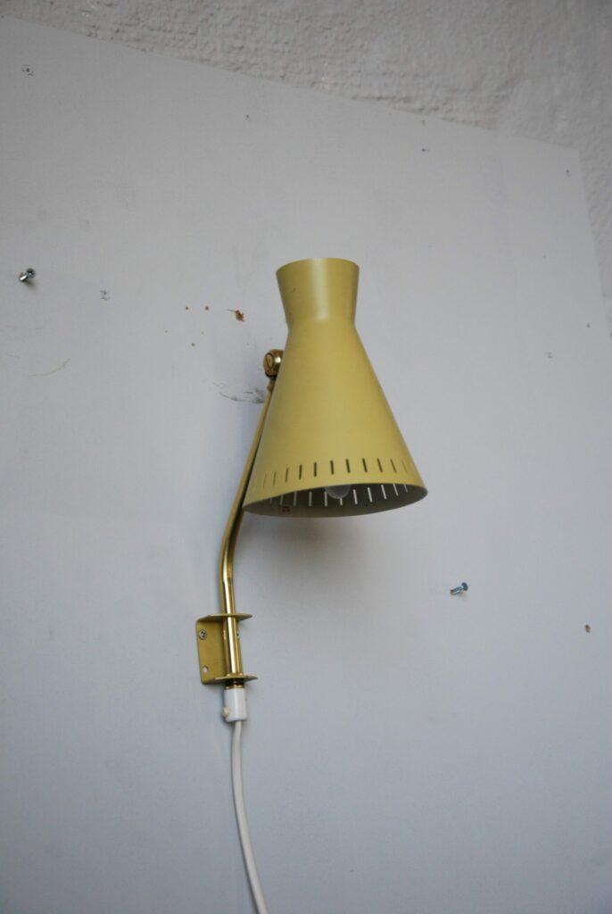 Vägglampa, 1950-/60-tal