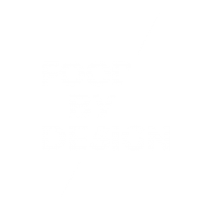 White logo by Food by Design