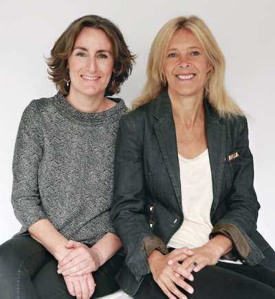 Portret of Marielle Bordewijk & Marleen Zaalberg of Food by Design