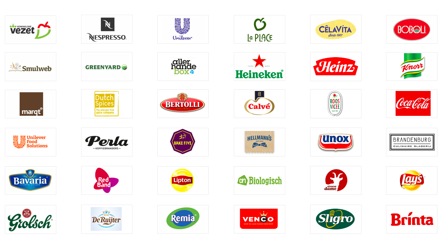 Logo's Clients Food by Design