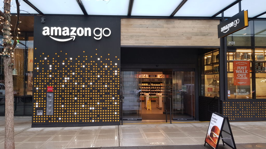 Amazon go, just grab and go - a cashier less shop