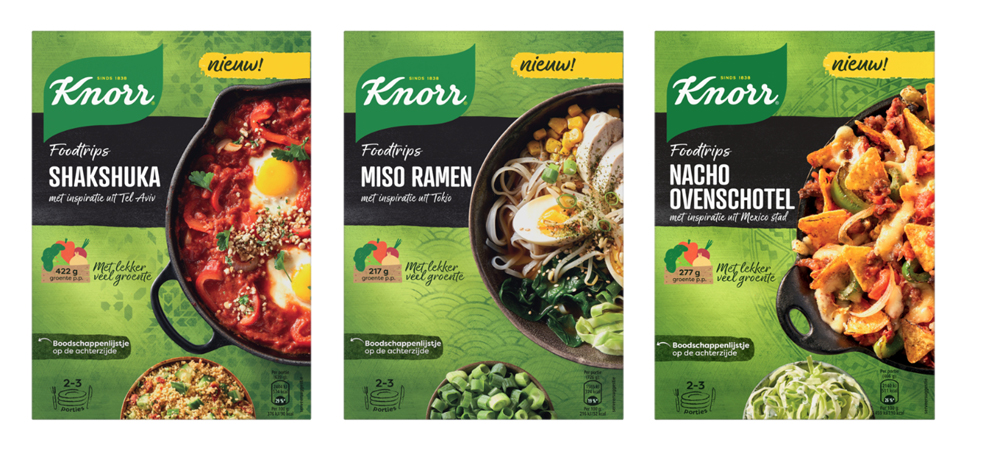 Overview Knorr Food Trip Packaging