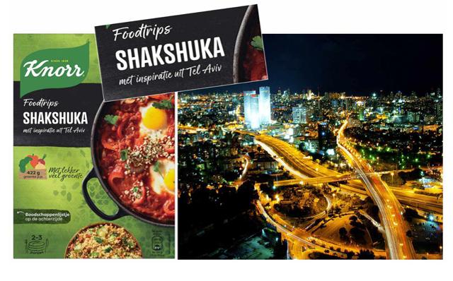 Concept Development Knorr Food Trip, Shakshuka Tel Aviv
