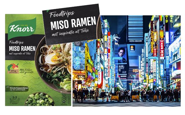 Concept Development Knorr Food Trip, Miso Ramen Tokyo